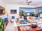 Azure Azul M212 - All-new Great Room with beautiful Ocean Views, 60' Samsung HD TV/HD Cable/iPod Dock/CD-DVD, Leather...