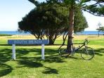 Walk or cycle along the beach or into the centre of Fremantle only 1 km away