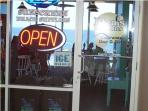 Restaurant and bar open on 2nd floor~offers in room delivery