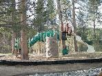 Club house playground for older children