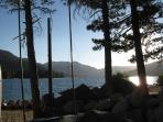 Tahoe Donner Private marina with sandy beach, snack bar, and picnic areas.