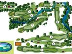 The public golf course 10 minutes away near Canaan is a bargain at around 20$ for 18 holes.