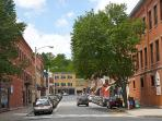 Thirty minutes north is Great Barrington. Smithsonian mag rated it the #1 small town in USA in 2012.