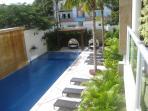 2nd floor balcony view