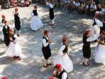 folklore dancing, 3 km from the property, only performace of folklore in the dubrovnik county