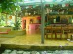 The Bar-Restaurant just down the beach path from Casa Dos Rios, Buena Esparenza, is a great asset!