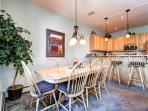 Pines Townhome Dining Ski-in/Ski-Out Breckenridge Lodging