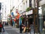 Buci area, with many French and international cuisines, 5 minutes walk