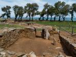 Baratti,etruscan tombs, archeological site, 7 km from our home