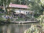 The Fairfield Boathouse - hire rowing boats and canoes, walk by the Yarra river, and eat at the lovely cafe
