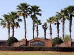 Entrance to Tuscan Ridge - a quiet and beautiful development on US highway 27