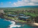 Kona Reef sits right on the oceanfront