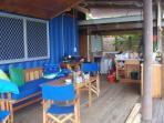 Bula Vista deck living area