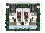 Floor plan of the villa - Huge at 1300 sqft for a 1 bedroom
