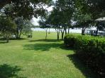 View of dock/intercoastal from driveway