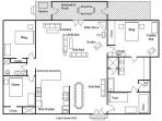 Floor Plan Lake House #24