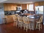 Gourmet Granite and Stainless Kitchen