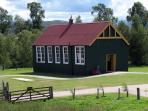 Schoolhouse at the Highland Folk Museum, Kingussie