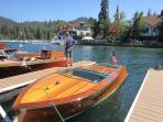 Wooden Boat Show - June at the Village