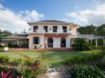 Main Villa - South View