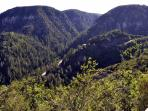 scenic view/Oak Creek Canyon
