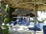 Beach Bar 2 minutes from Casita