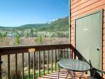 Mountainside Balcony w/ Views Frisco Lodging Vacation Condo Rent