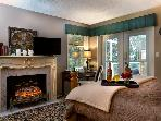 Located on opposite ends/ level the Private Guest room may also be booked for stays- please inquire.