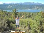 Another day in paradise -- sunny Big Bear Lake!