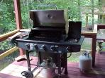 Brand New 5 Burner Gas Grill w/ filled spare tank