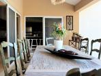 Professionally decorated villa with covered BBQ and bar area beside the pool!(610)