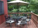 Deck Dining Area