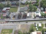 Downtown Blue Ridge - Aerial Vew