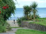 Private, gated, pedestrian beach access
