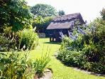 The cottage organic flower gardens