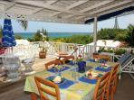 Dining area/verandah