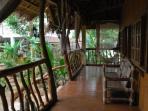 Native cottage veranda