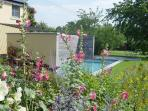 NOUS HOTES, garden and swimming pool