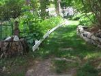 pathway by garden area