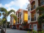 Water Front Beach Townhomes Complex, Floridian Splendor