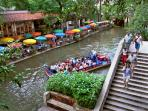 Located less than 1 mile from the famous River Walk