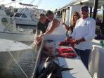 Mention you rented with Bob & Kathy for your 10% discount with Capt. Jim Bailey.  Ph# 305-393-1204
