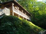 $129/nt special - stay in a real log home !