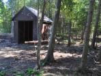 Wood Shack on Property