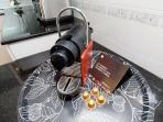 Nespresso machine and capsule