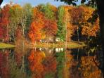 Robinson Pond in the fall! Its beautiful