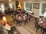 Grand Dining Room for 28; Also can be used for business and planning meetings