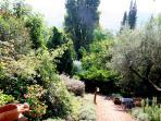 La Fontana Garden steps