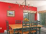 Dining Room--Sunny and Cheerful; Seats Eight People Comfortably.
