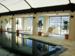 large indoor pool for use of residents